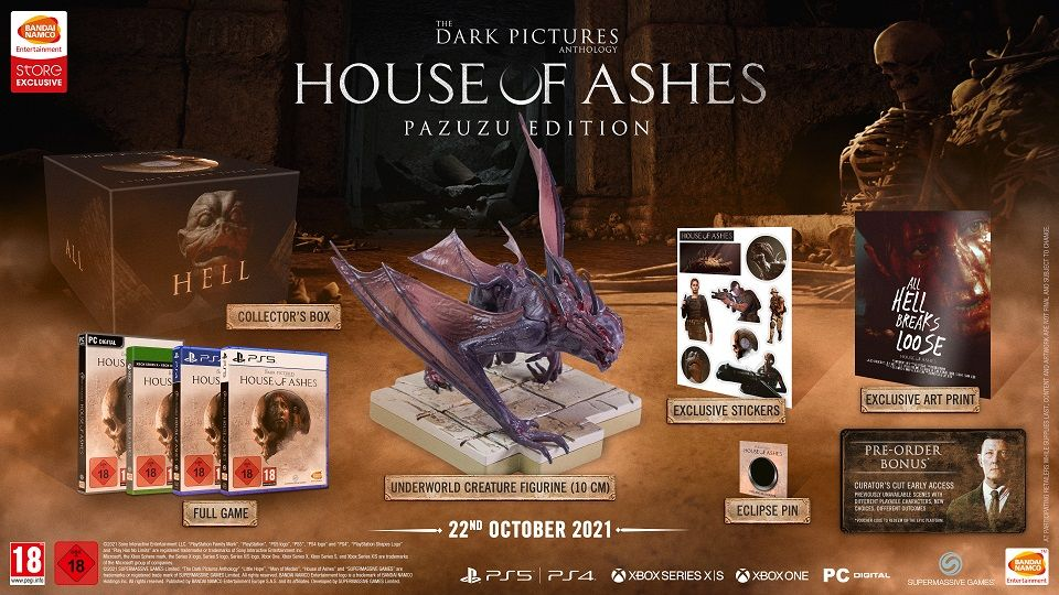 The Dark Pictures: House of Ashes Pazuzu Edition