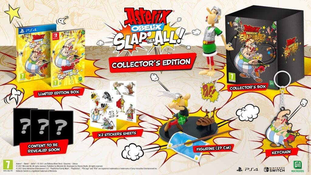 Asterix & Obelix: Slap them All! Collector's Edition