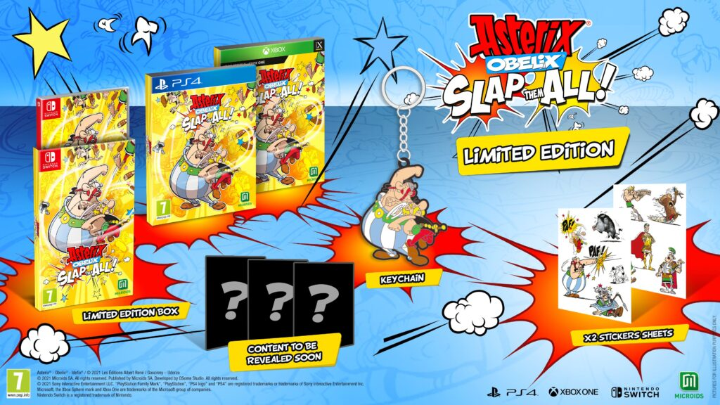 Asterix & Obelix: Slap them All! Limited Edition