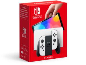 Konsola Nintendo Switch OLED Biała
