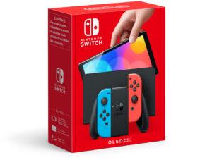 Konsola Nintendo Switch OLED Neon