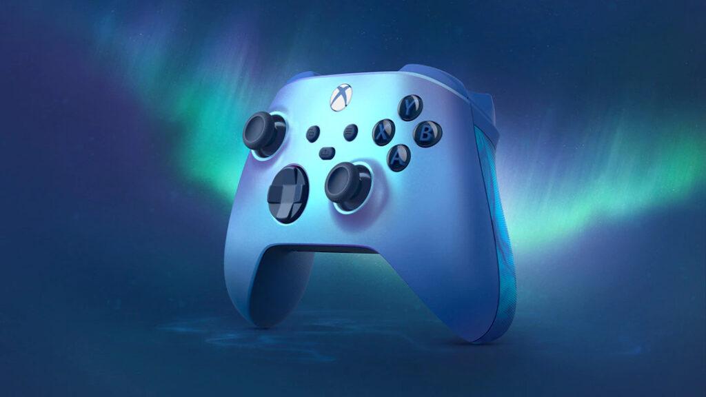 Kontroler Xbox edycja specjalna Aqua Shift