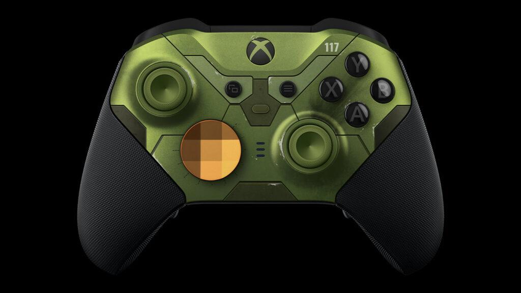 Kontroler bezprzewodowy Xbox Elite Series 2 edycja limitowana Halo Infinite