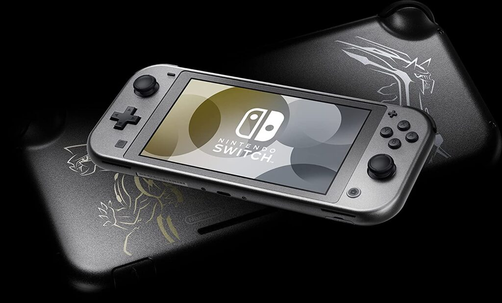 Nintendo Switch Lite Dialga and Palkia Edition