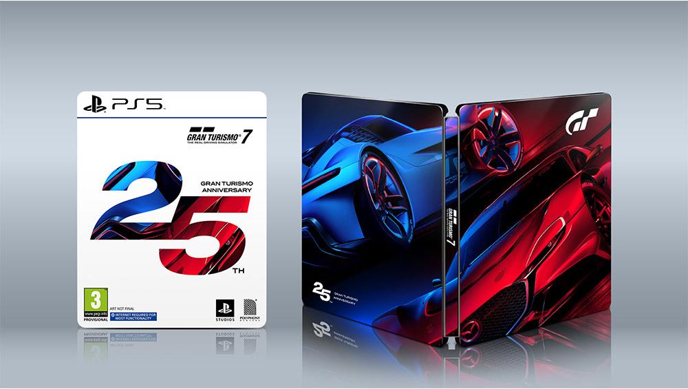 Gran Turismo 7 25th Anniversary Edition Steelbook