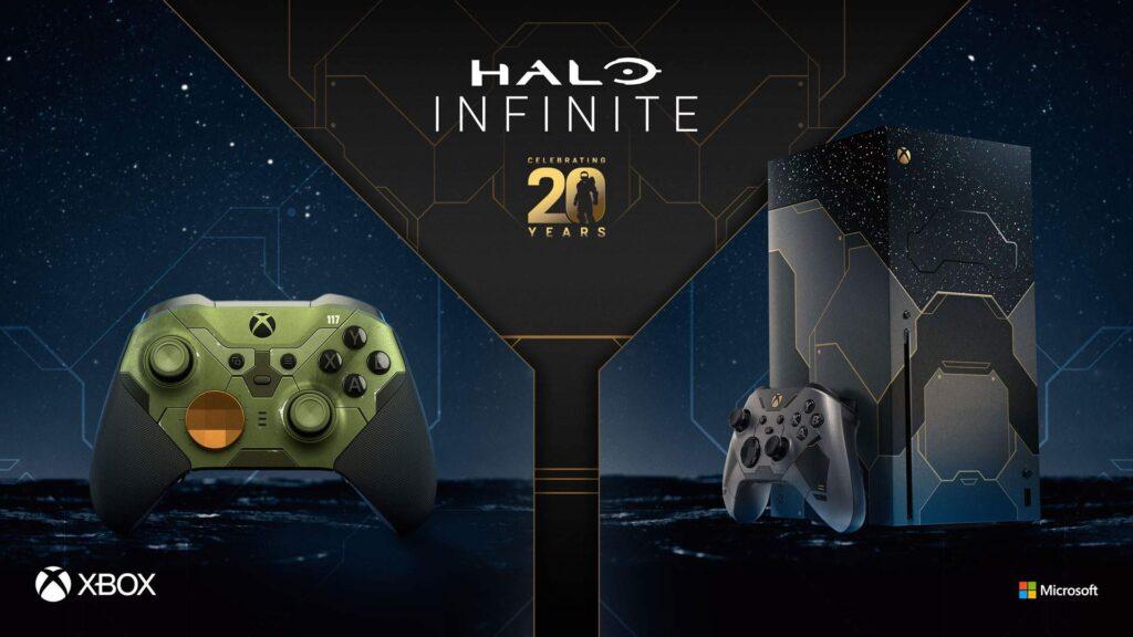 Halo Infinite - limitowana konsola Xbox Series X i kontroler Elite 2