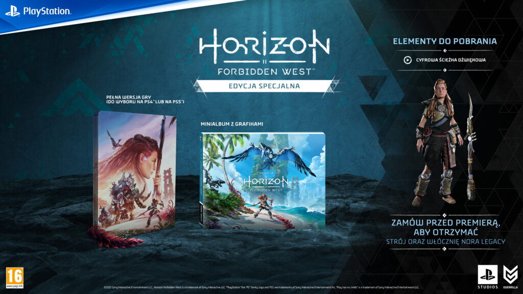 Horizon Forbidden West Edycja Specjalna