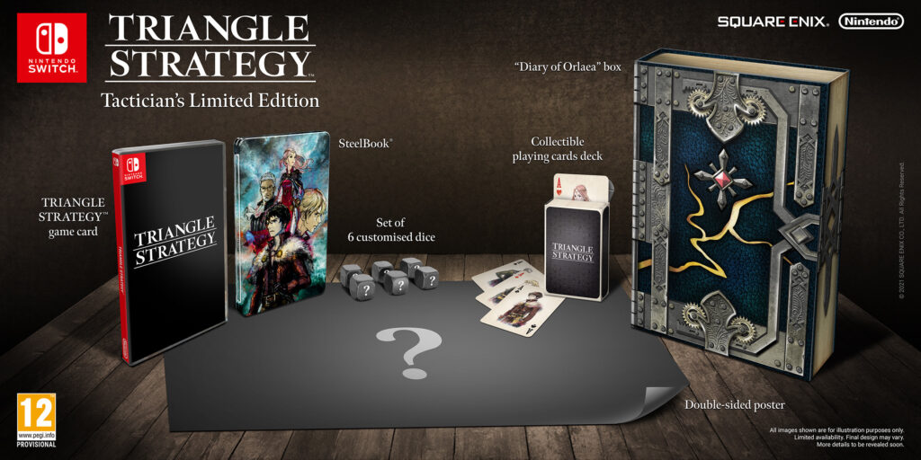 Triangle Strategy Tactician's Limited Edition