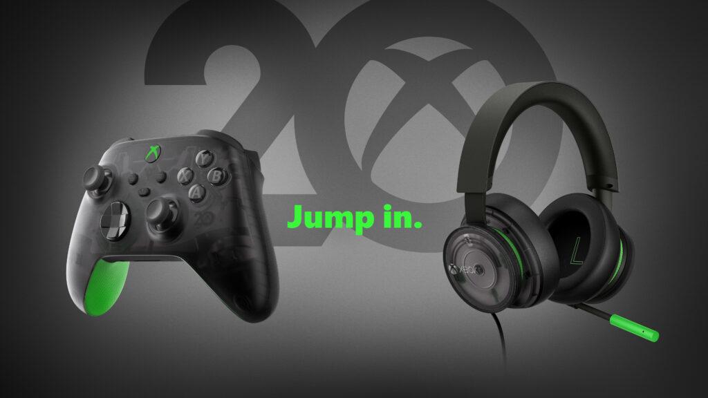 20-lecia Xboxa - specjalna wersja kontrolera i słuchawek