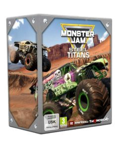 Monster Jam Steel Titans Edycja Kolekcjonerska