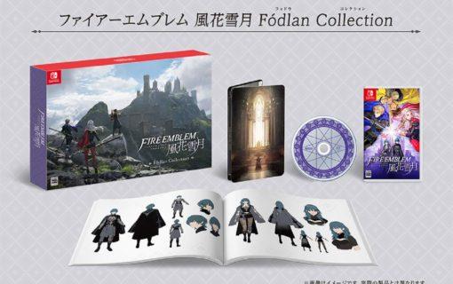 Japońska kolekcjonerka Fire Emblem Three Houses z drugą wersją Steelbooka
