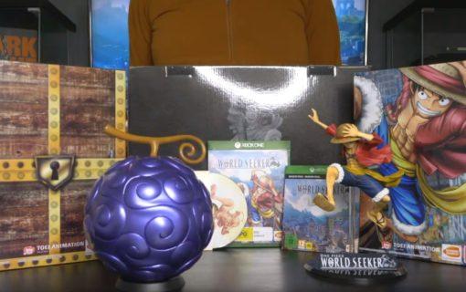 Unboxing kolekcjonerki One Piece: World Seeker