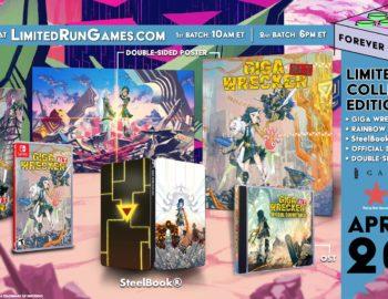 Kolekcjonerska edycja Giga Wrecker Alt. od Limited Run Games