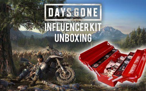 Press Kity Days Gone na unboxingach