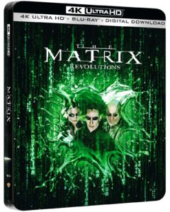 Matrix Rewolucje Steelbook