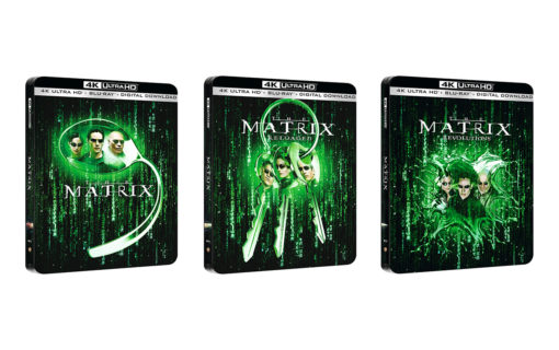 Przedsprzedaż Steelbooków trylogii Matrixa na 4K UHD z polską wersją językową