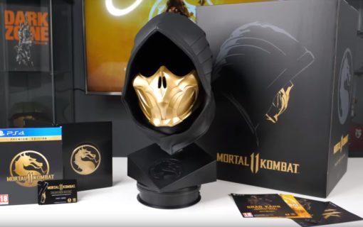Unboxing edycji kolekcjonerskiej Mortal Kombat 11