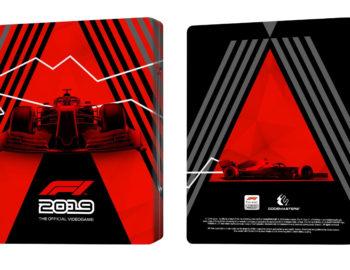 Steelbook F1 2019 jako bonus w przedsprzedaży
