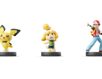 Amiibo Pichu, Isabelle i Pokemon Trainer z datą premiery