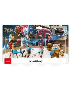 Amiibo Zelda: Breath of the Wild – Zestaw 4 figurek