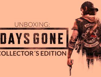 Unboxing edycji kolekcjonerskiej Days Gone