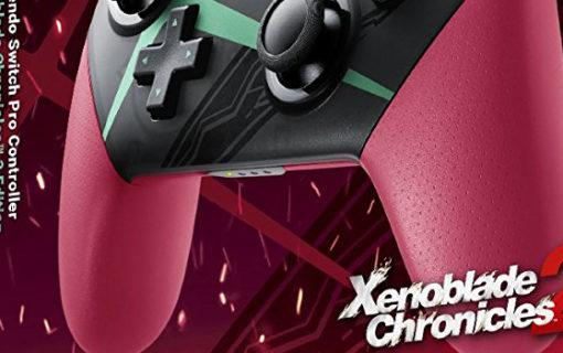 Nintendo Switch Pro Controller – edycja Xenoblade Chronicles 2
