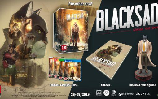 Blacksad: Under the Skin w kolekcjonerskiej edycji z figurką