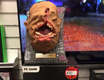 Gadająca głowa z kolekcjonerki Rage 2 w akcji
