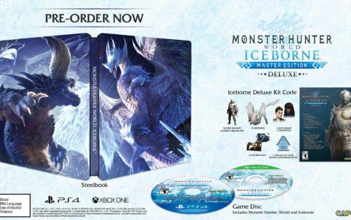 Specjalne wydanie Monster Hunter World: Iceborne w Steelbooku