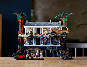 Pierwszy zestaw LEGO z serialu Stranger Things – Druga Strona