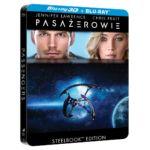 Steelbook z filmem Pasażerowie na Blu-ray 3D za 60 zł w Media Markt