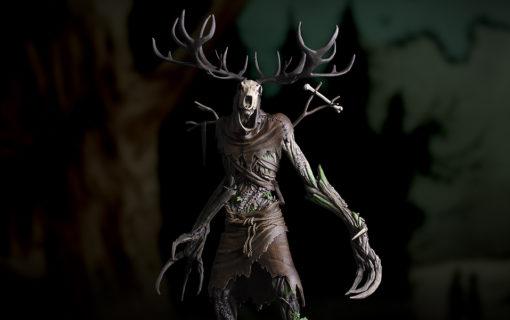 Zaprezentowano figurkę Leszego z Wiedźmina 3