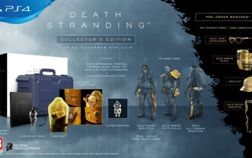 Specjalne edycje Death Stranding dostępne w sklepie Avans