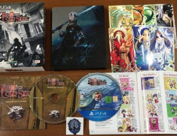 Oficjalny unboxing specjalnego wydania The Legend of Heroes: Trails of Cold Steel II