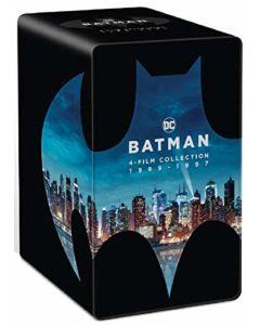 Batman kolekcja 4 filmów 1989-1997 Edycja Kolekcjonerska