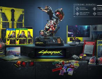 Kolekcjonerka Cyberpunk 2077 dostępna w oficjalnym sklepie CD PROJEKT RED