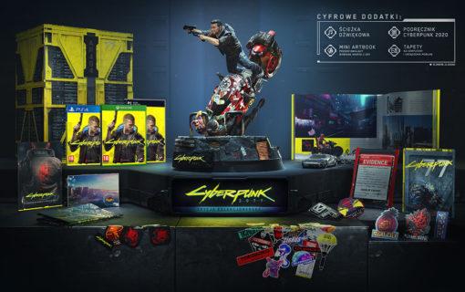 Cyberpunk 2077 z datą premiery i kolekcjonerką. Ruszyła przedsprzedaż.