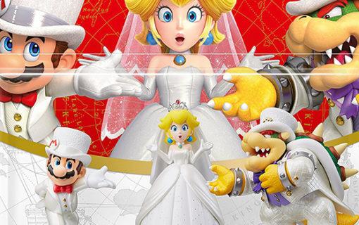Amiibo w strojach ślubnych z Super Mario Odyssey