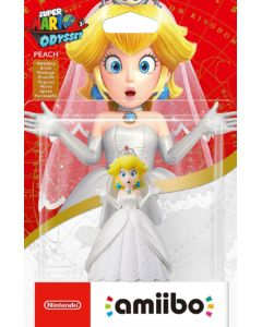 Amiibo Super Mario – Peach Wedding
