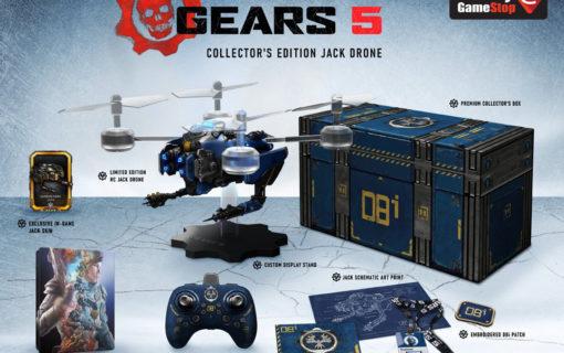 Gears 5 z edycją Ultimate i kolekcjonerką Jack Drone
