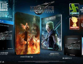Wystartowała przedsprzedaż Final Fantasy VII Remake Deluxe Edition w polskich sklepach