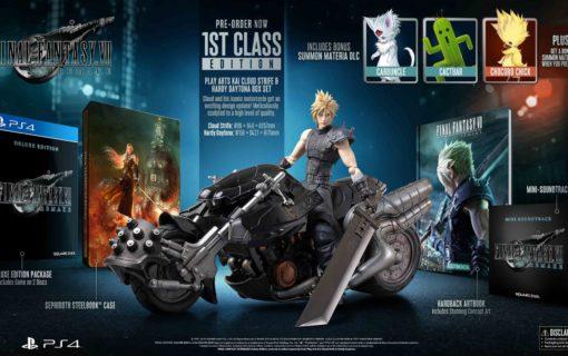 Specjalne wydania Final Fantasy VII Remake