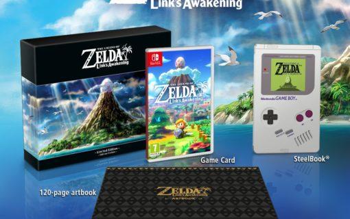 Remake The Legend of Zelda: Link's Awakening w limitowanej edycji ze Steelbookiem