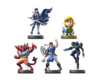 Zapowiedziano 5 nowych figurek amiibo. Link, Snake, Squirtle i Ivysaur z datą premiery