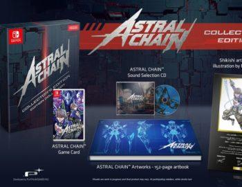 Astral Chain w kolekcjonerskim wydaniu