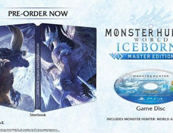 Steelbook z Monster Hunter World Iceborne dostępny w Europie