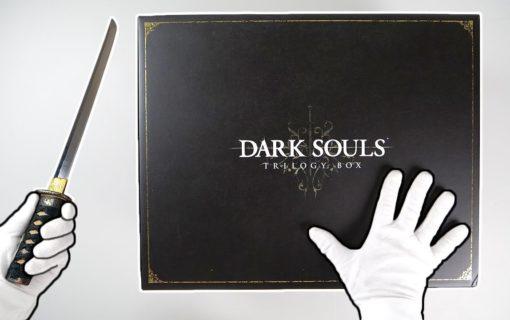 Edycja Kolekcjonerska Dark Souls Trilogy na unboxingu