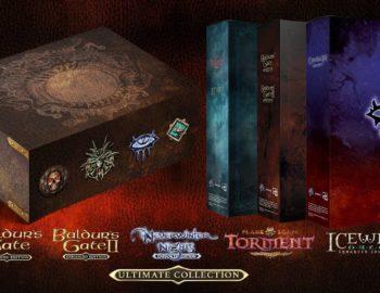 Konsolowe Baldur's Gate, Neverwinter Nights, Icewind Dale i Planescape: Torment w kolekcjonerskich wydaniach