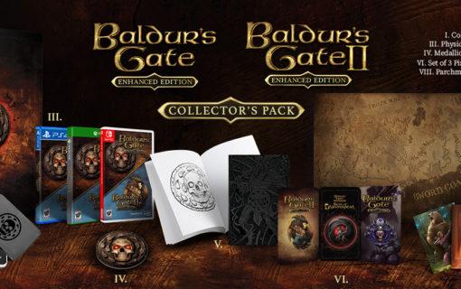 Kolekcjonerki Baldur's Gate i Planescape: Torment & Icewind Dale dostępne w Polsce
