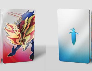 Gratisowe Steelbooki przy zakupie cyfrowej wersji Pokemon Sword i Shield